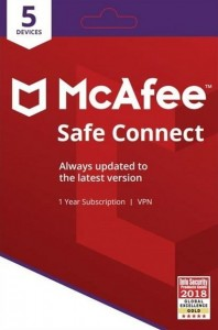McAfee Safe Connect Premium 05-Device