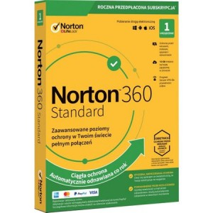 NORTON 360 STANDARD 1 USER 1 DEVICE
